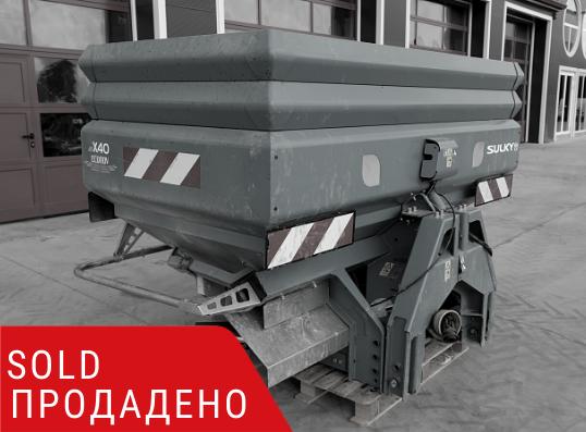 ПРОДАДЕНО – Навесна двудискова торачка Sulky X40 Econov