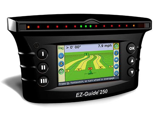 Display for navigation EZ-Guide 250