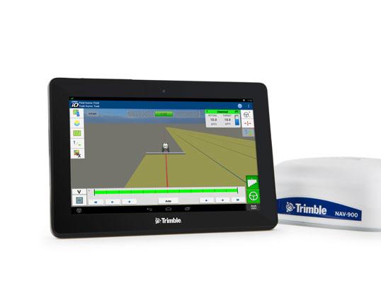 Display for navigation GFX-750