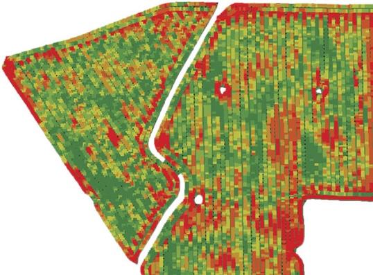 Система за картиране на добива Yield Monitoring