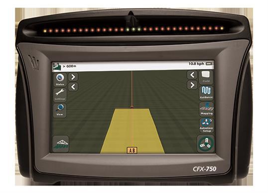 Trimble navigation display CFX-750
