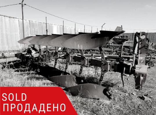 ПРОДАДЕНО – Навесен обръщателен плуг Kverneland LB-85-300 5+1