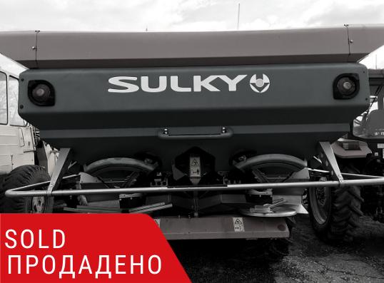 ПРОДАДЕНО – Навесна двудискова торачка Sulky X36