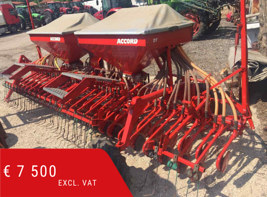 Pneumatic Seed drill Kverneland Accord DT 6.0m
