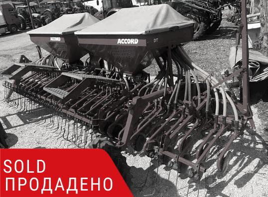 ПРОДАДЕНО – Есенна сеялка Kverneland Accord DT 6.0m