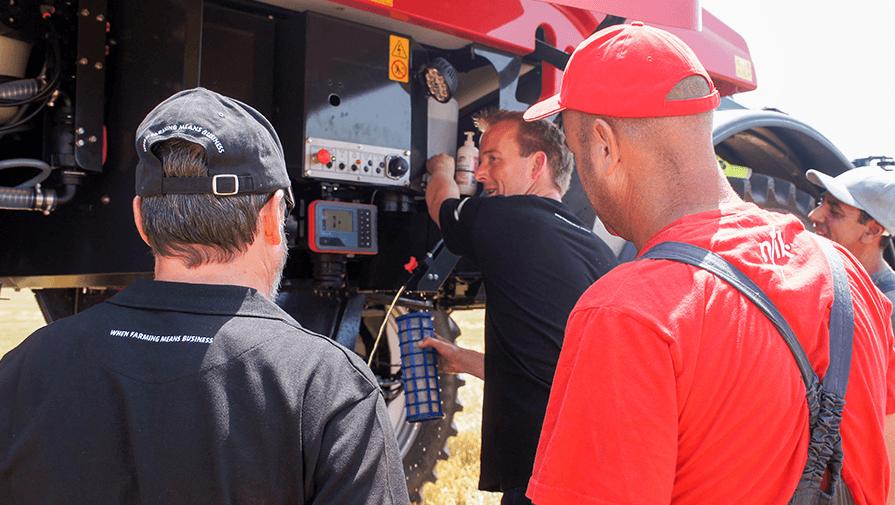 Европейски тест драйв тур със самоходната пръскачка Kverneland iXdrive S6