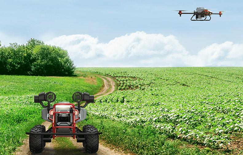 автономни роботи и дронове за селското сотпнаство